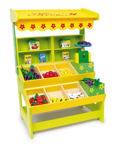 Drewniany Sklep Owocowo Warzywny Do Zabawy Dla Dzieci Small Foot Design Sklep Dla Dzieci