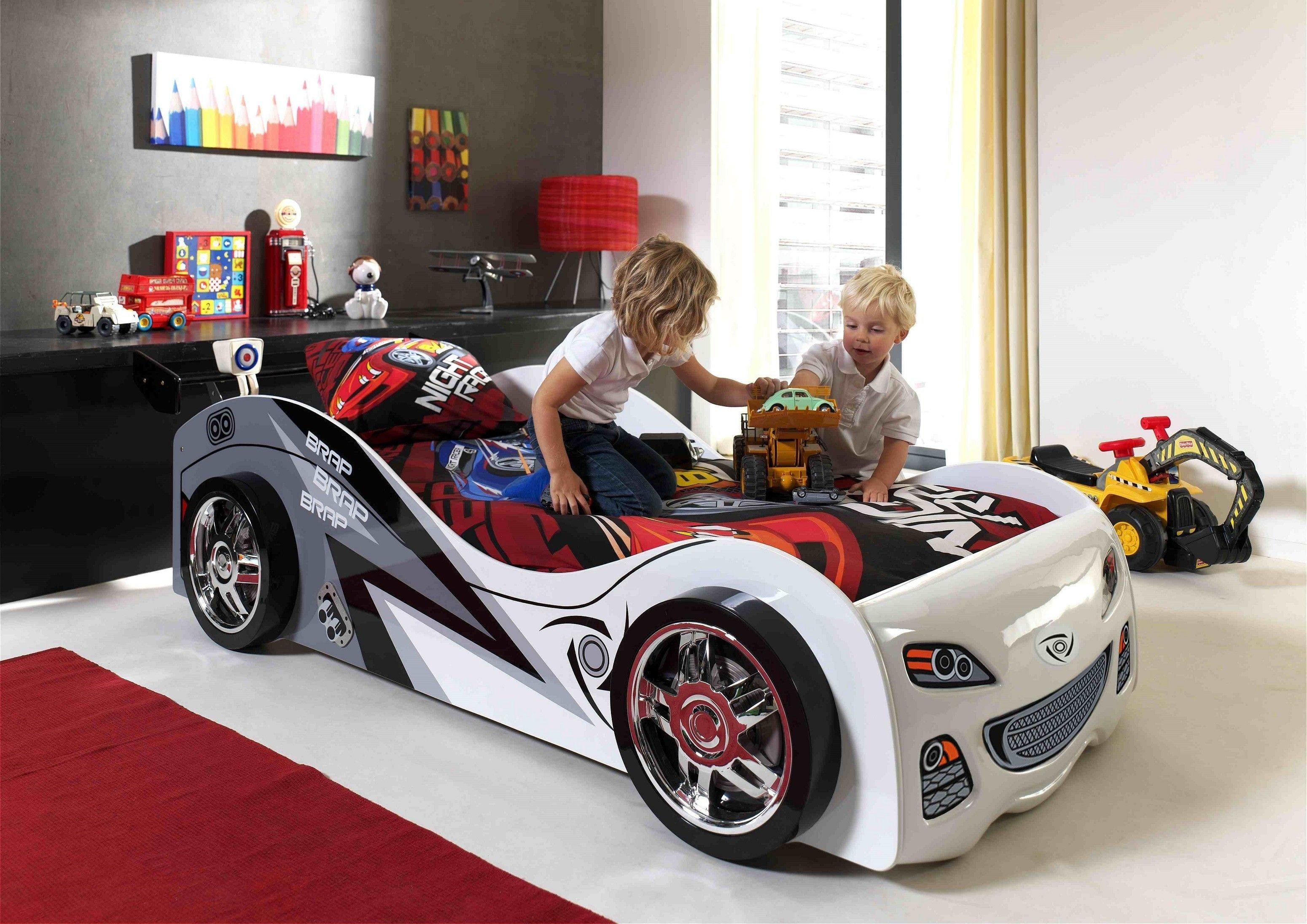Ko auto samoch d braby bia y ko dla dziecka dla ch opca vipack sklep dla dzieci - Chambre petit garcon voiture ...